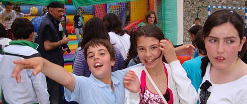 Fotografías de la tarde de fiesta