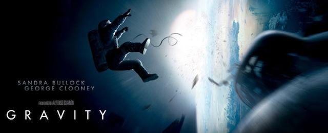 """Película """"Gravity"""" (Gravedad)"""