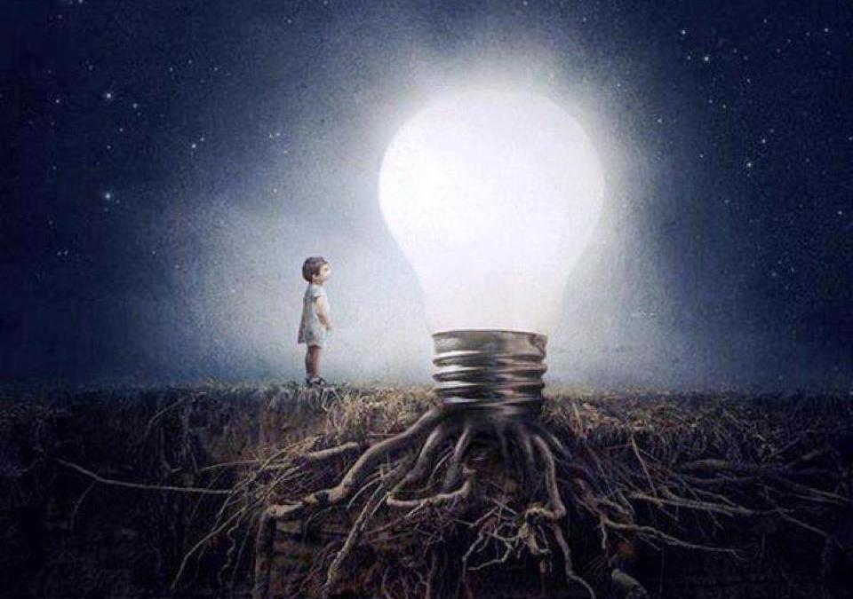 Recuerda que la luz nace en ti