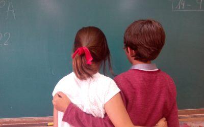Apadrinando compañeros en el colegio