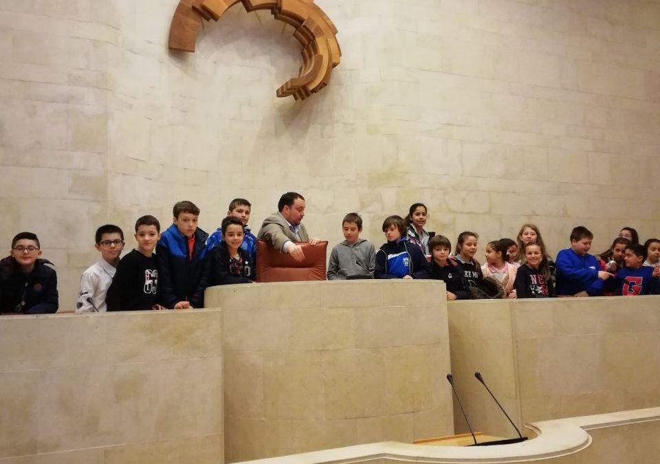 Hemos visitado el Parlamento de Cantabria