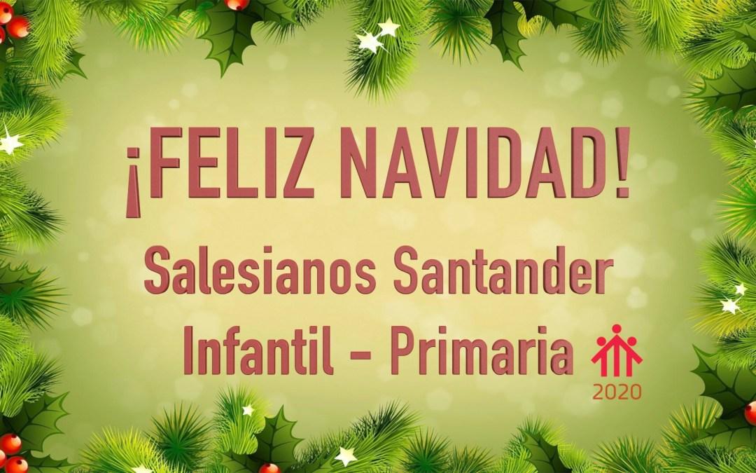 Los niños de Infantil-Primaria os desean Feliz Navidad