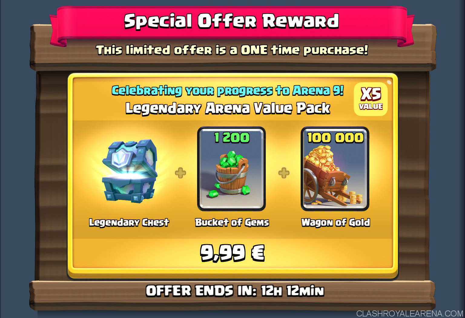 arena packs everything you