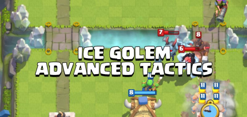 ice golem advanced tactics