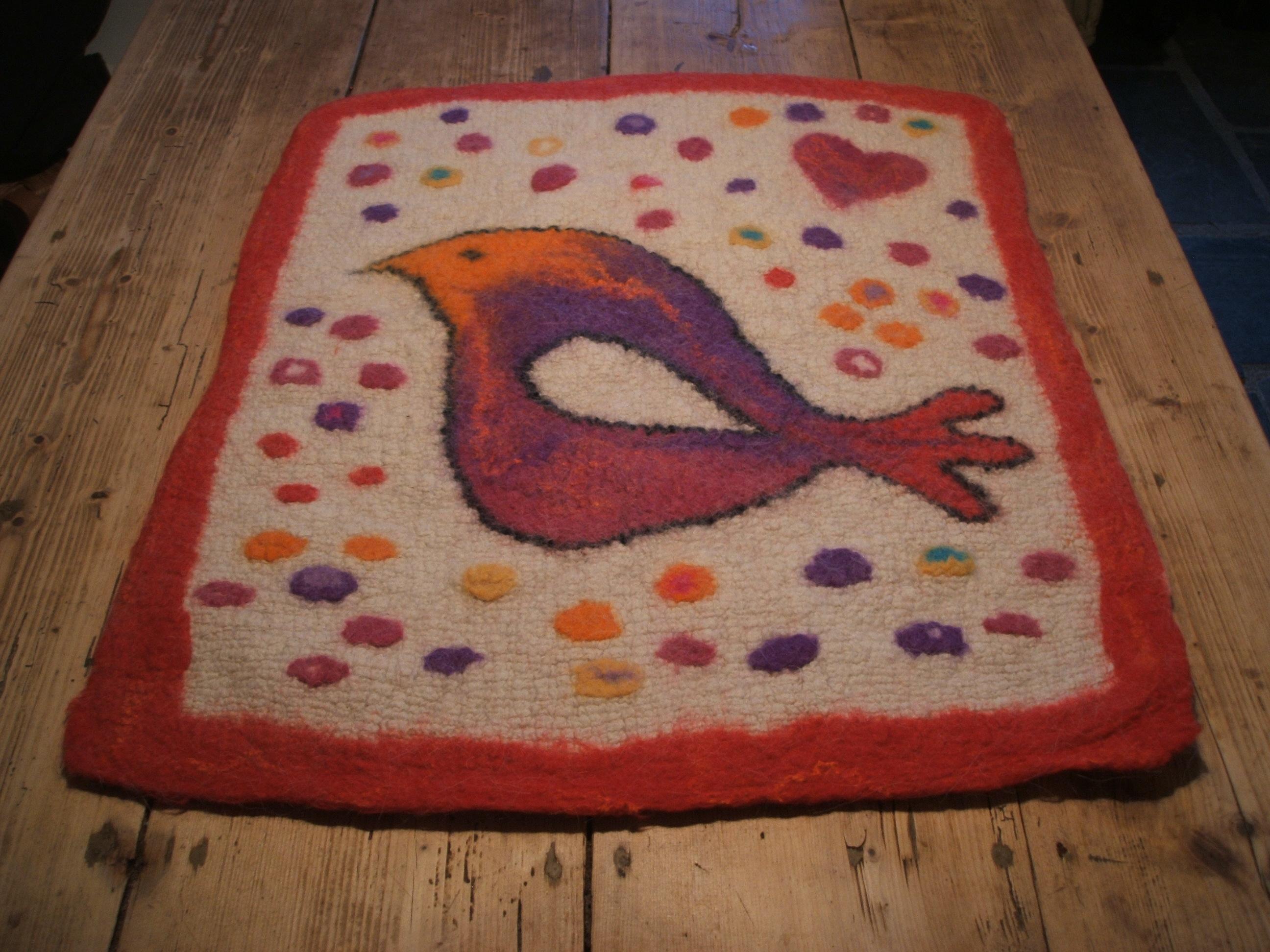 Valentine's Day rug