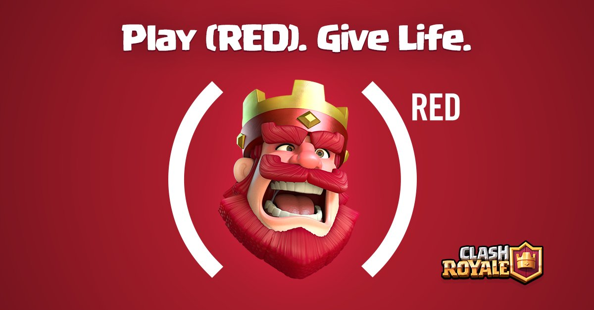 Red Update Available For Clash Of Clans And Clash Royale