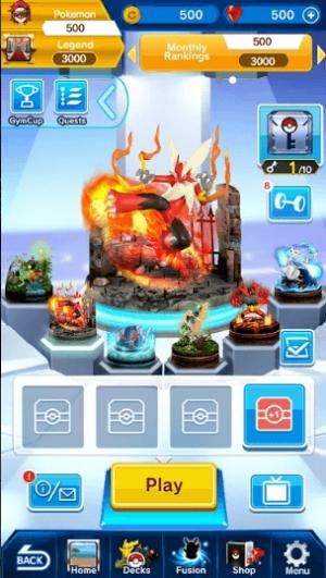 Download Pokemon Duel Mod Apk v 6 0 10 [Unlimited Gems]✅