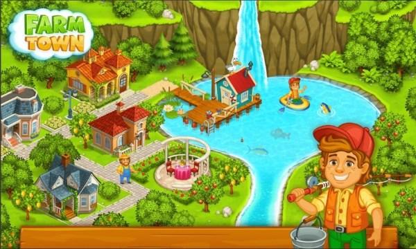Get Farm Town Mod Apk