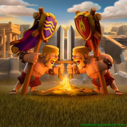 Clan-war-aniversario-Clash-Royal-Wallpaper