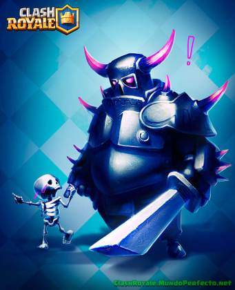 Esqueleto-pekka-Clash-Royal-Wallpaper