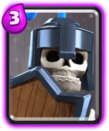 Carta Guardias Clash Royale