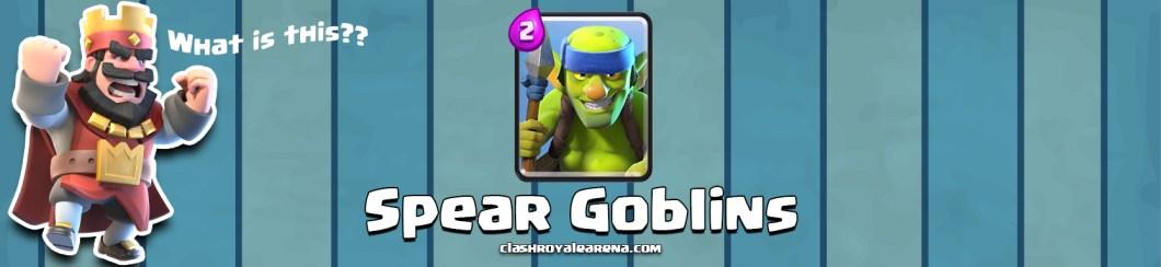 Spear Goblins in Clash Royale