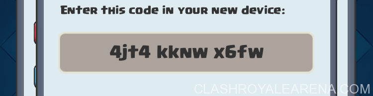Clash Royale Link Code