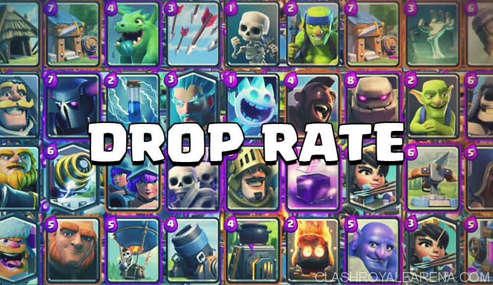 Clash Royale Card Drop Rates