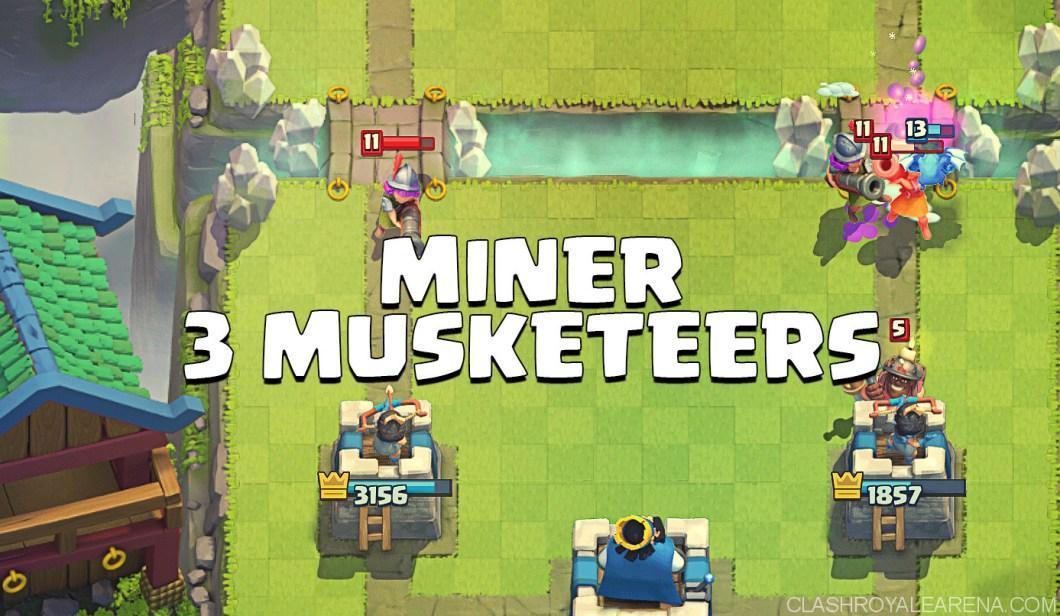 Miner Three Musketeers Deck