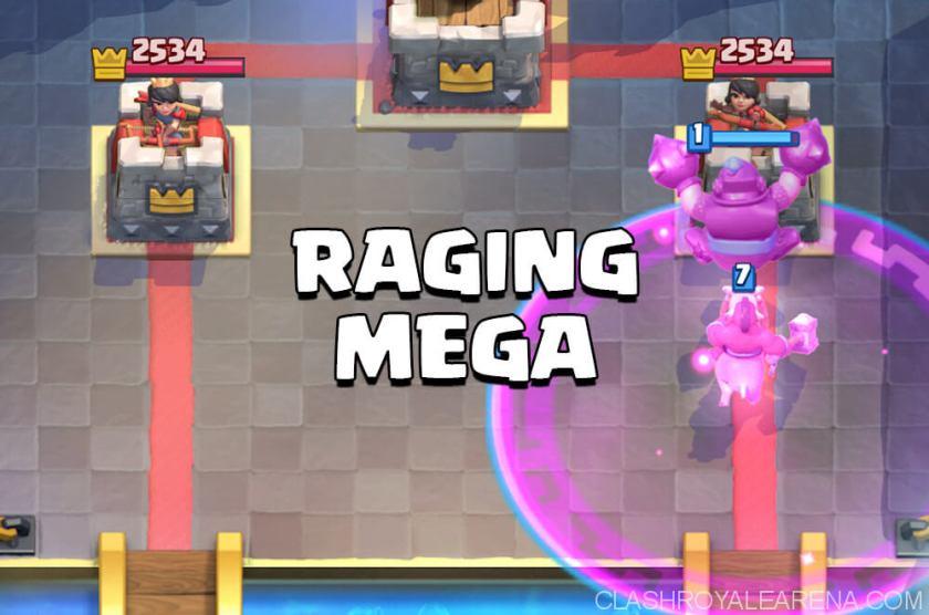 raging mega