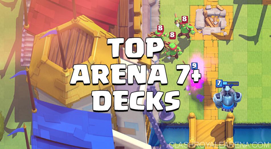Clash Royale Arena 7 Deck