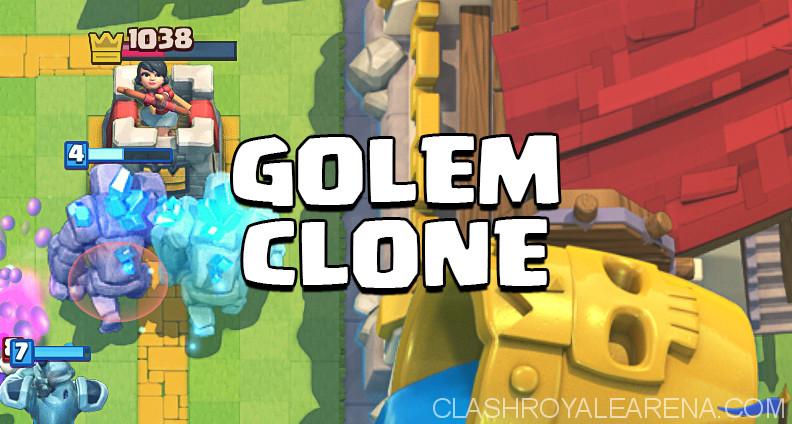 Golem Clone Deck