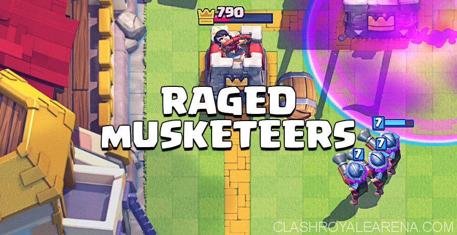 Raged Three Musketeers Deck