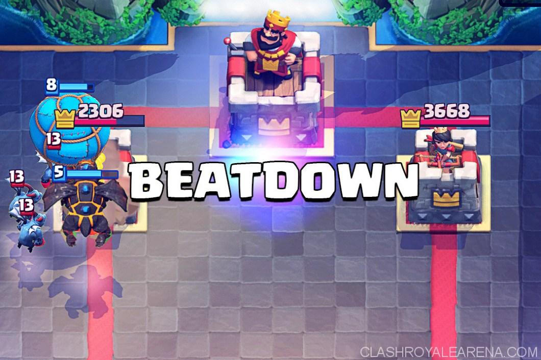 Building Beatdown Decks