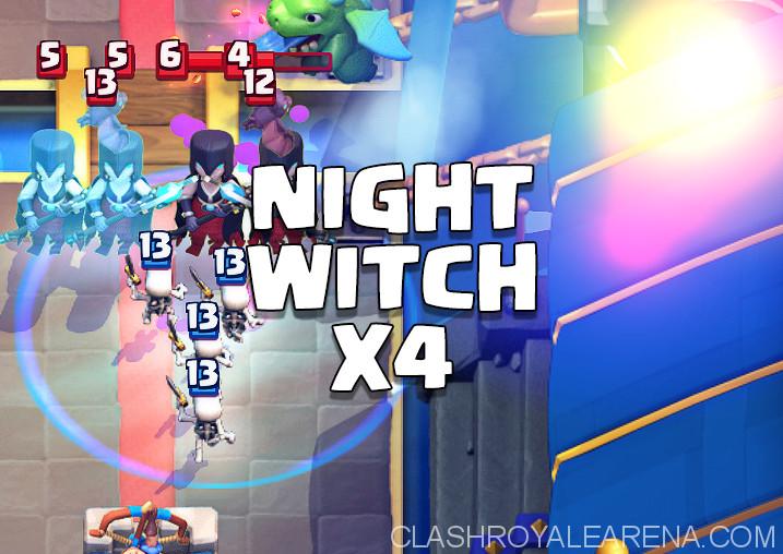 night witch mirror clone deck