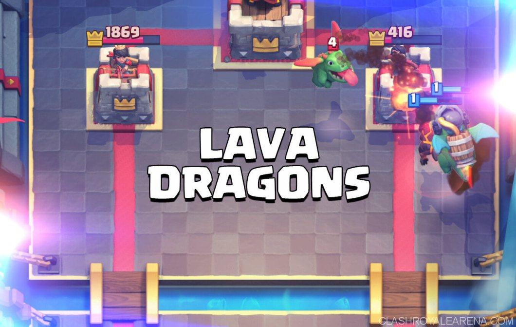 lava dragons