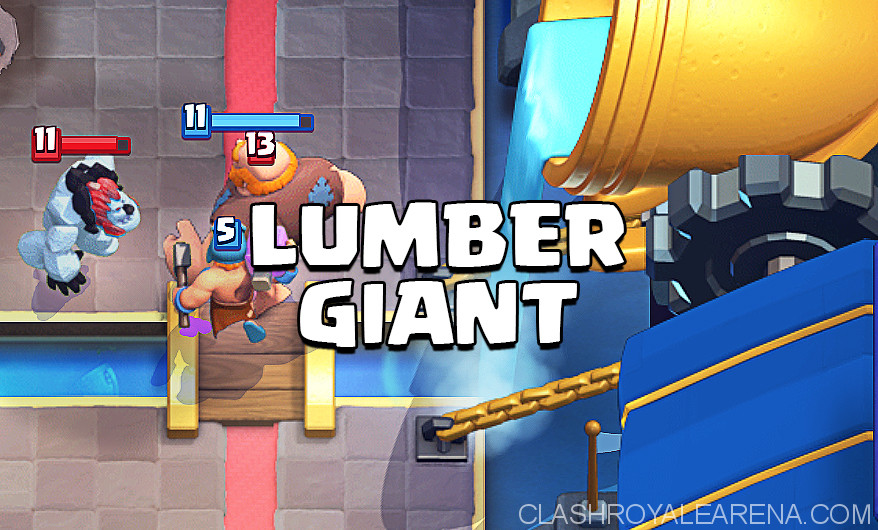 Lumberjack Giant Deck