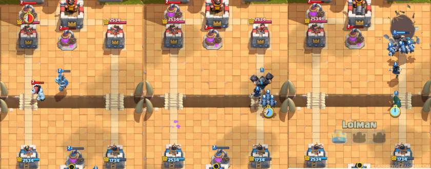rusing with mega knight