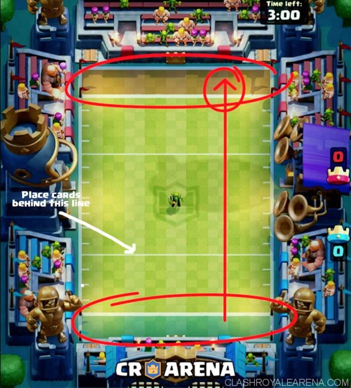 clash royale touchdown mode
