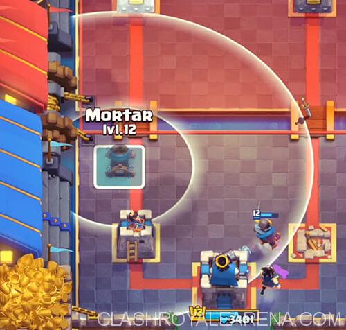 mortar clash royale