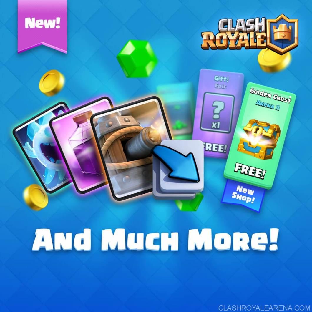 new shop clash royale