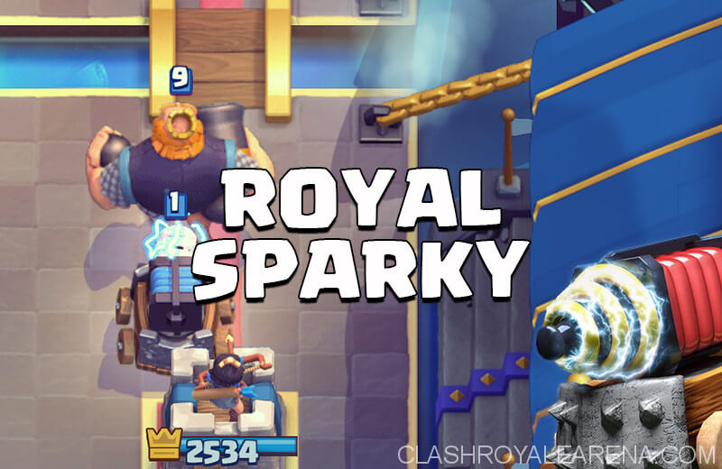 royal giant sparky