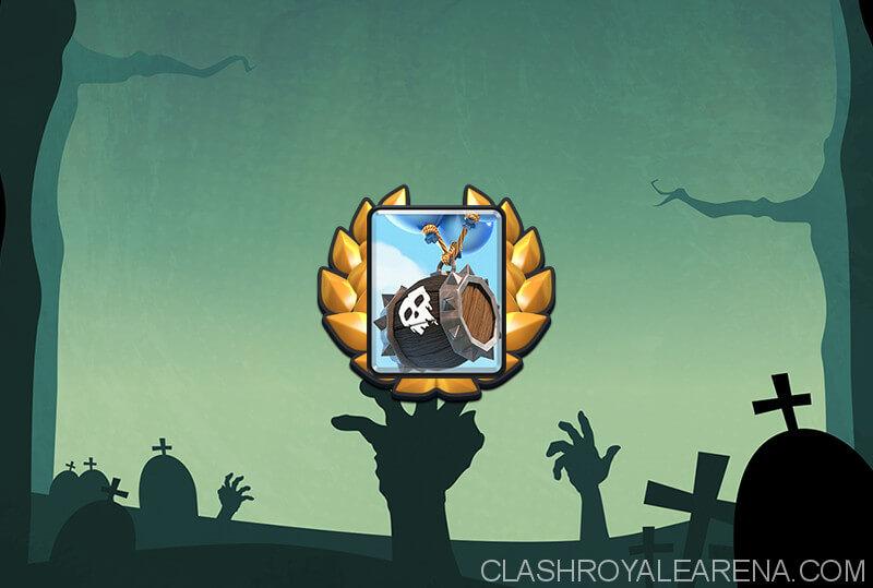 skeleton barrel challenge