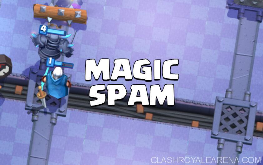 magic archer bridge spam deck