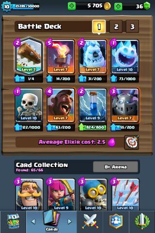 decks for clash royale