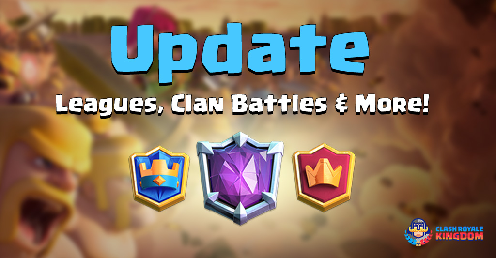 Update: NEW Leagues, Clan Battles & More!