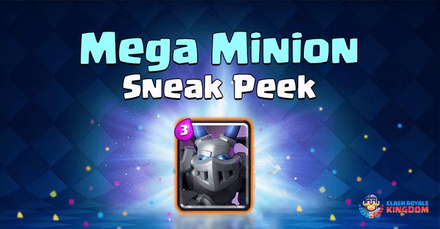 Mega Minion Sneak Peek