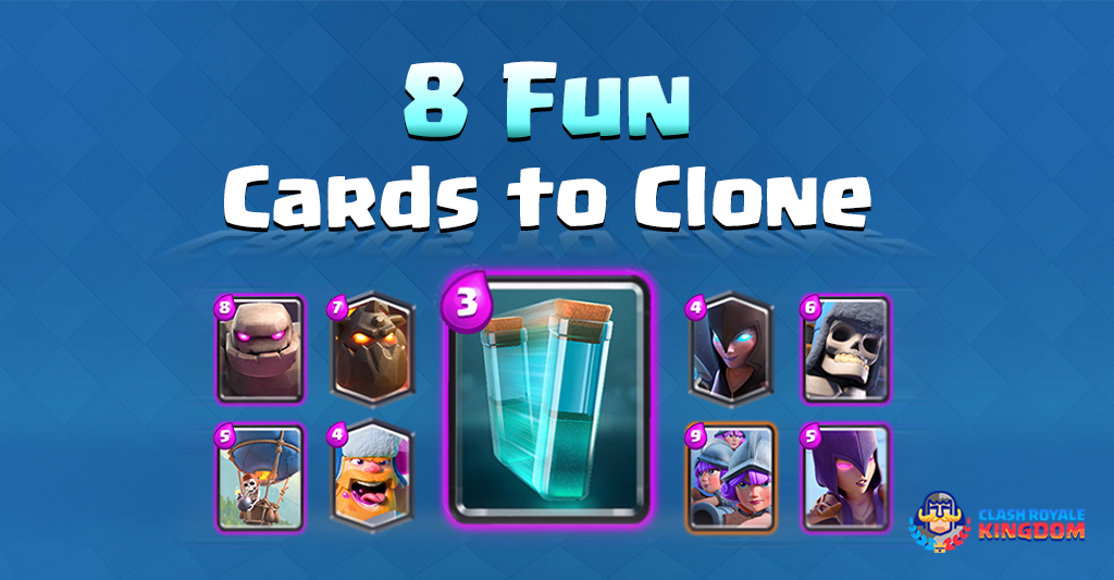Clone: 8 Fun Cards to Clone