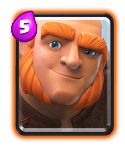 building targeting card clash royale-giant