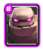 golem-building targeting card clash royale