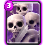 skeleton army card-clash-royale-army