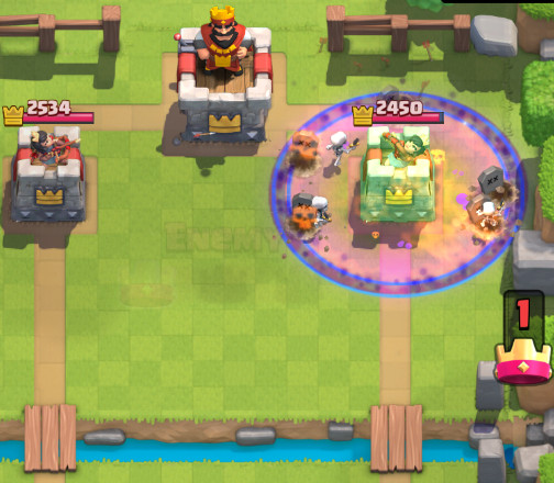 Graveyard Cheap Combos-screenshot-clash-royale-kingdom