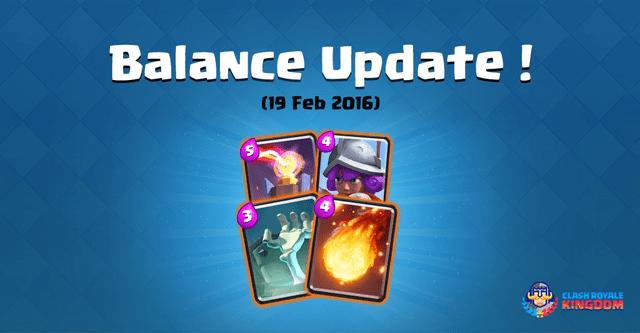 Balance Change Live! (19 February, 2016)