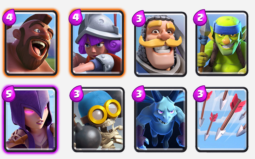 Best deck arena 4-clash-royale-kingdom
