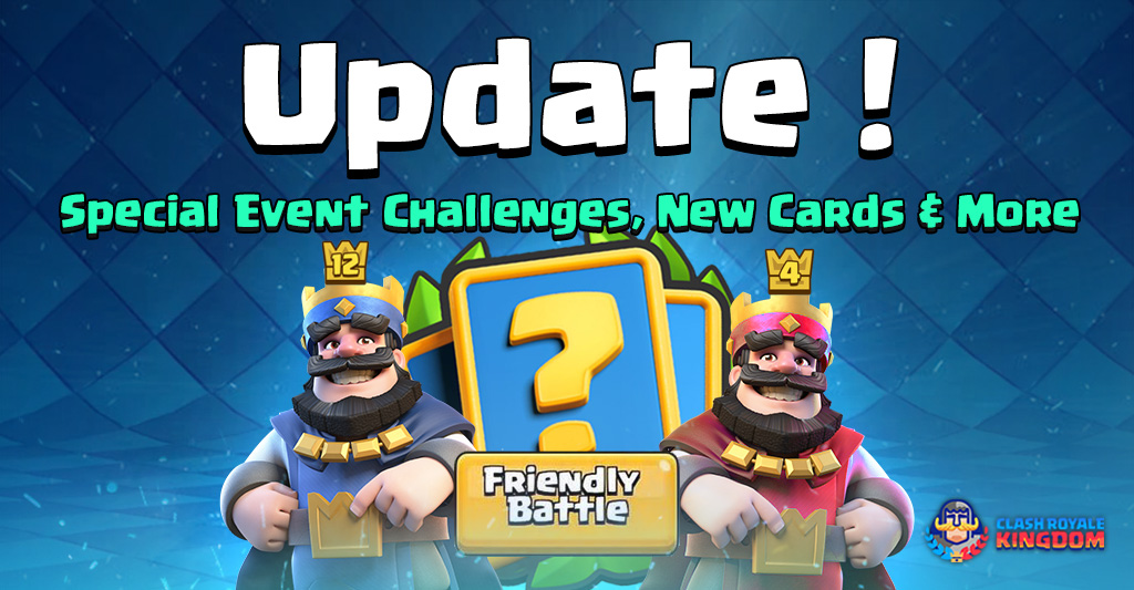 Update: Special Event Challenges, New Cards & More