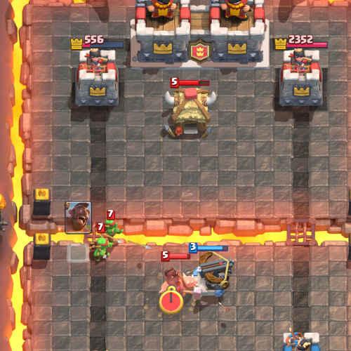 X-bow clash royale-hog rider