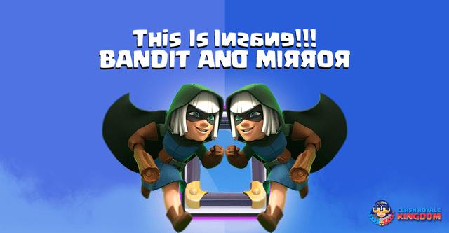 Bandit Mirror Troll Deck 1.8 Elixir