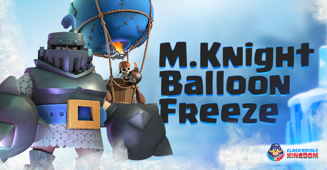 Winter is Coming – Mega Knight Balloon Freeze