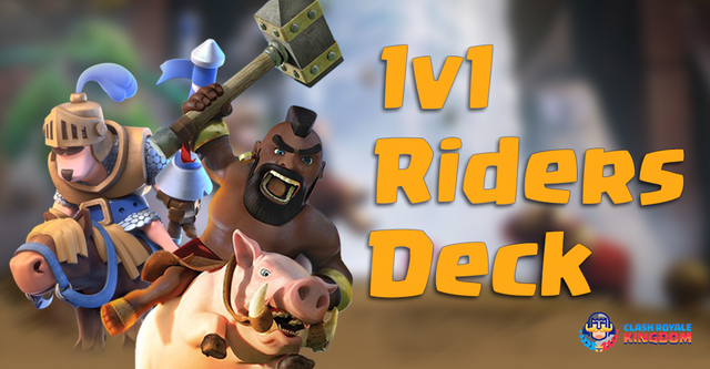 The Best Riders Deck in 1v1 battle – Prince with Hog Rider