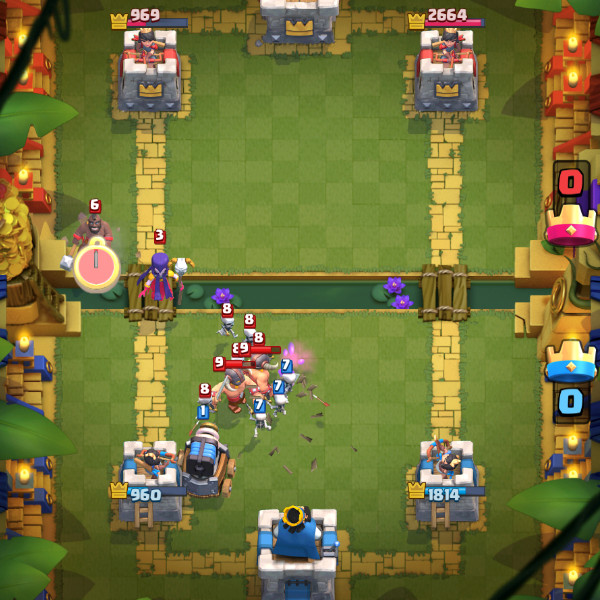 Golem-Night-Witch–Hog-Witch-clash-royale-kingdom